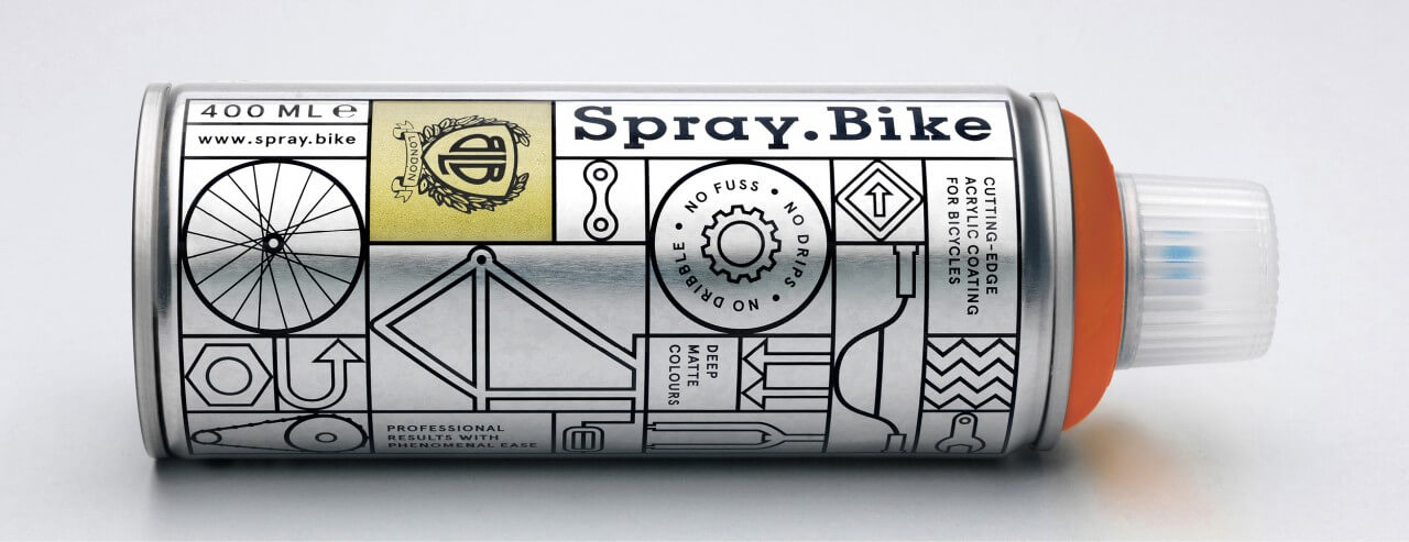 spray bicycle paint