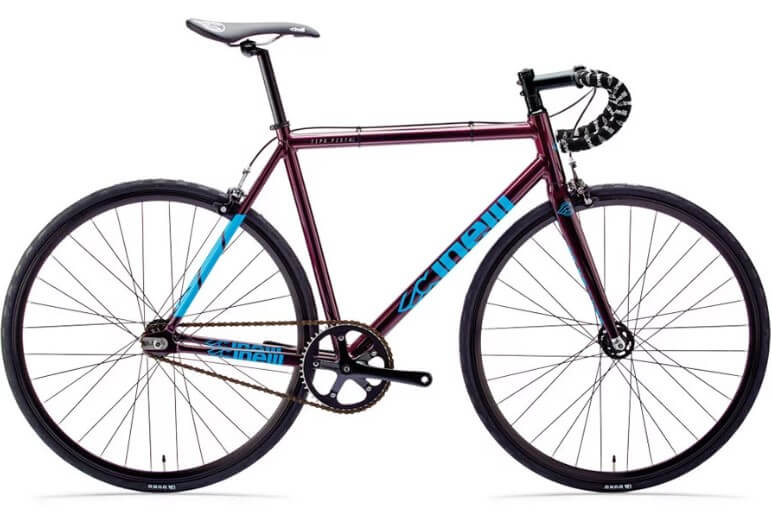 best fixie bike cinelli tipo pista purple rain