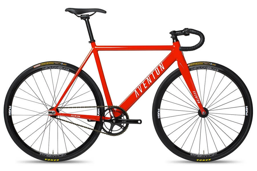 best fixie bike aventon cordoba molten orange