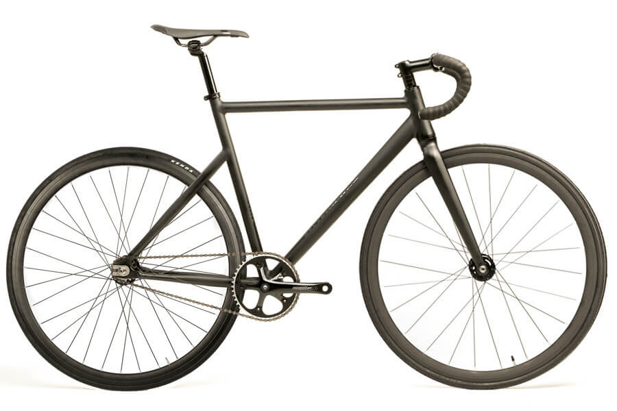 best fixie bike santafixie raval matte black