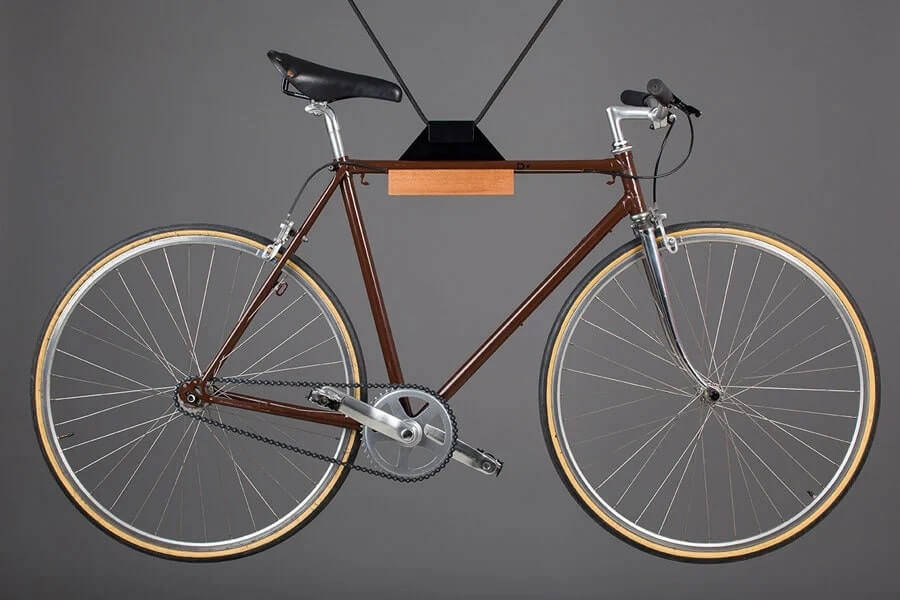 hang bicycle with ceiling mount
