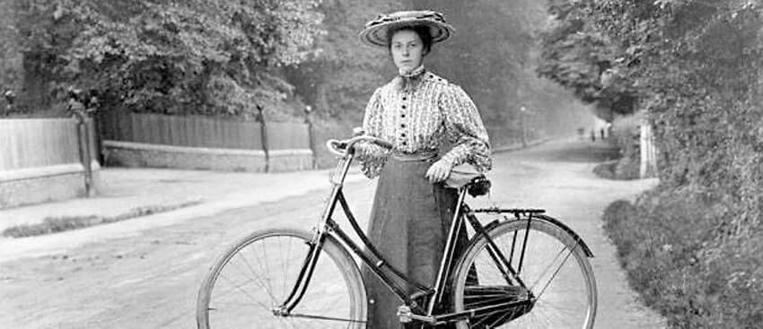 Annie Londonderry mujer ciclista