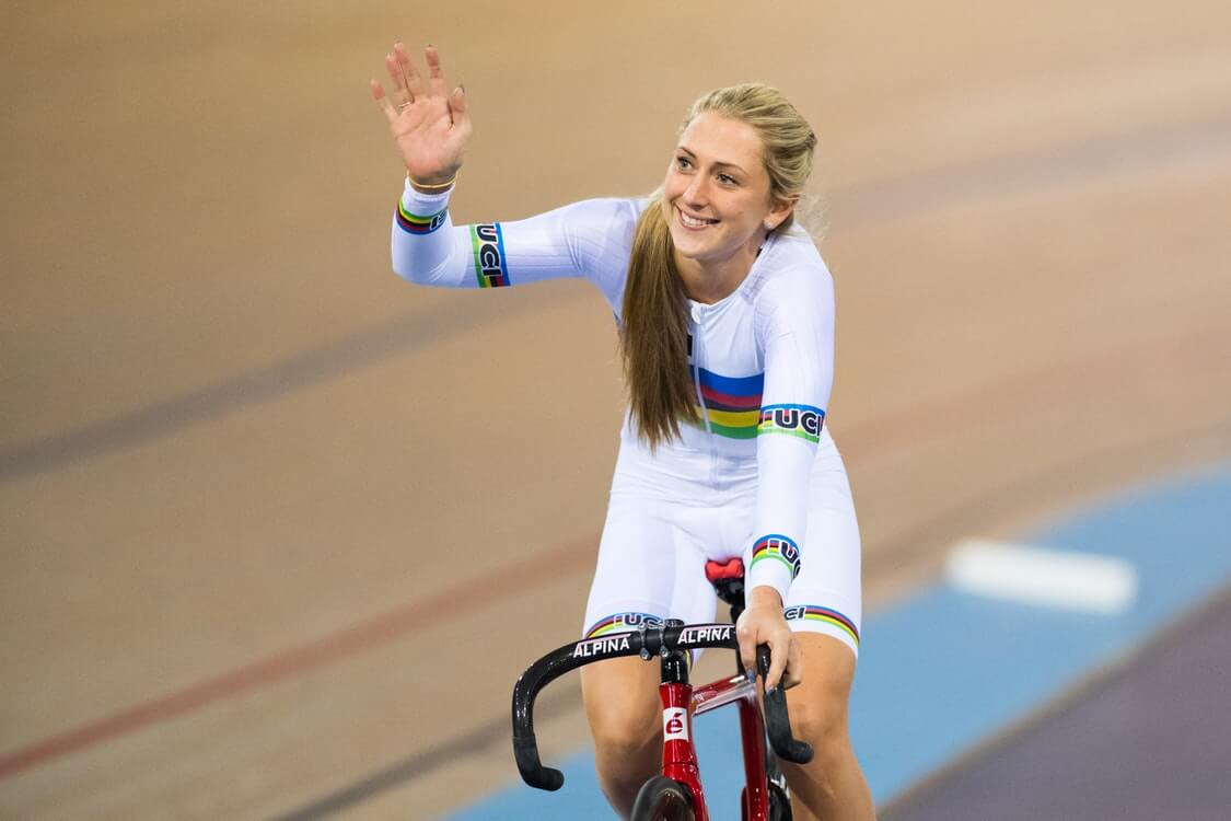 Laura Kenny women cyclist