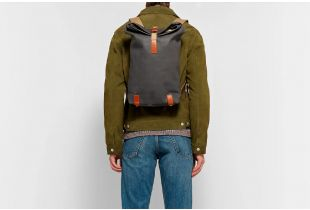 Brooks Pickwick Small Gray Backpack