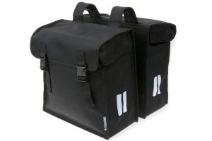 Basil Mara XXL Double Pannier Bag - Black