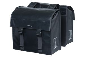 Basil Urban Load Double Pannier Bag - Black