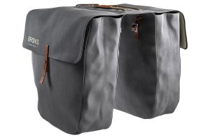 Brooks Brick Lane Roll Up Panniers - Grey