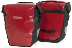 Ortlieb Back Roller City QL1 Pannier Bag - Red