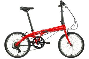 Dahon Vybe D7 Folding Bike -  Red