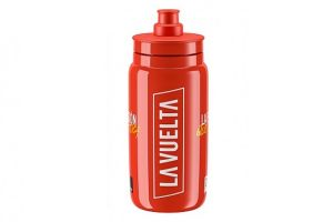 Elite Fly Vuelta 2020 550ml Bicycle Bottle - Red