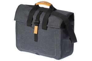 Basil Urban Dry Pannier Bag - Grey