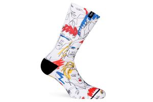 Pacifico Street Faces Socks