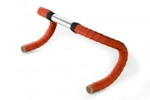 Brooks Leather Bar Tape - Red