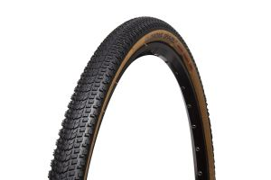 Chaoyang Gravel AT TLR 700x38C Foldable Tire - Black/Brown