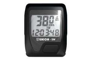 Union 5 Functions Cycle Computer - Black