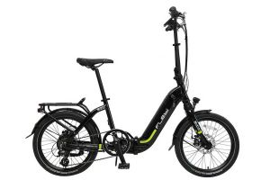 Flebi Swan + Folding e-Bike - Black Lime