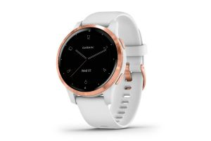 Garmin Vivoactive 4S Music Powder White/Rose Gold Smartwatch
