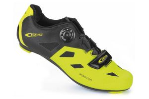 Ges Roadster Cyclist Shoes - Yellow/Black