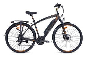 Legnano L210U Sage S.50 Electric Bicycle - Black