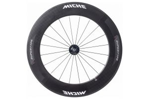 Miche Supertype Pista 88 Front Track Wheel - Carbon