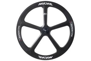 Miche Supertype Pista SPX5 Track Front Wheel - Carbon