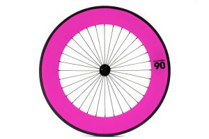 Notorious 90 Front Wheel - Pink