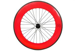 Notorious 90 Front Wheel - Red