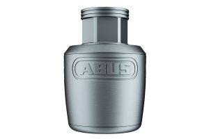 "ABUS NutFix 3/8"" Bike Wheel Lock Silver"