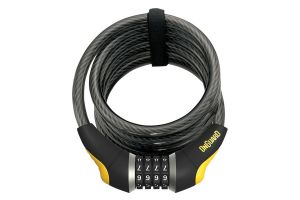 Onguard Doberman 8031 Coiled Cable Bike Lock Combination