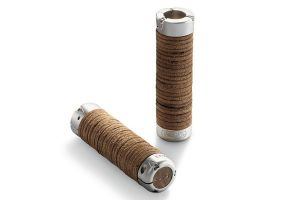 Brooks Plump Leather Grips - Brown