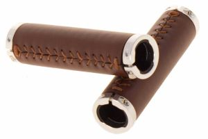 Sewn Lock Grips - Brown