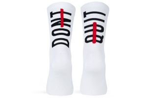 Pacifico Don't Quit Socks - White
