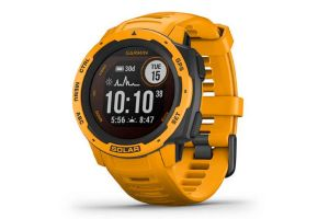 Garmin Instinct Solar Yellow Smartwatch