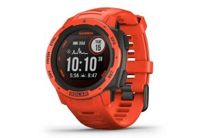 Garmin Instinct Solar Red Smartwatch