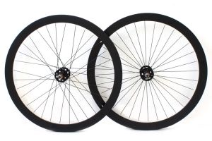 H+Son Formation Face Fixie Wheelset - Black