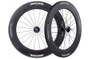 Miche Supertype Pista 88 Track Wheelset - Carbon