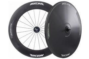 Miche Supertype Pista 88/Disc Track Wheelset - Carbon