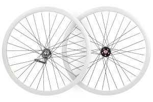 Coaster Brake Santafixie 30mm Wheelset - White