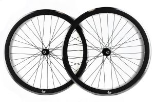 FK Fixie Wheelset - Matte Black CNC