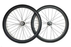 Santafixie 30mm Wheelset + Tyres - Black