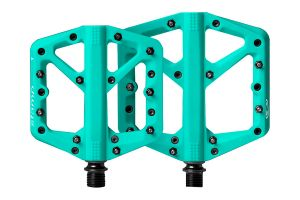 Crank Brothers Stamp 1 Pedals - turquoise