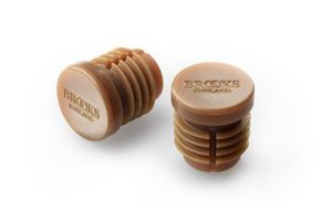 Brooks Bar End Plugs - Natural