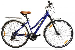 Vitoria City Bike 7S Steel - Blue