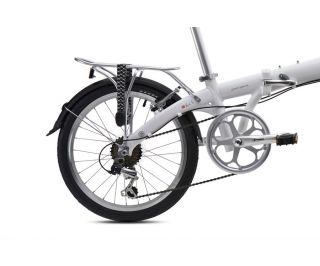 Bickerton Junction 1306 Country Folding Bicycle - White