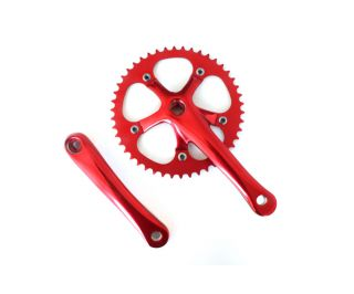 Mighty Crankset 165mm 46t - Red