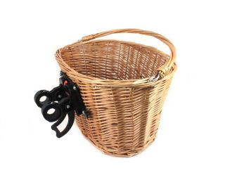 Ges Bicycle Wicker Front Basket