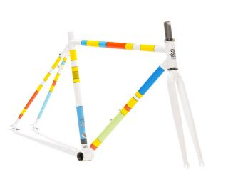 State Bicycle X The Simpsons - Color Block Frameset