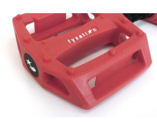 Fyxation Gates Pedals - Red