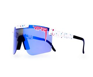 Pit Viper Absolute Freedom Polarized Glasses - Blue