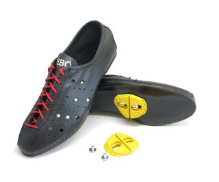 Proou Mendrisio Corsa Cycling Shoes With Cleats - Black